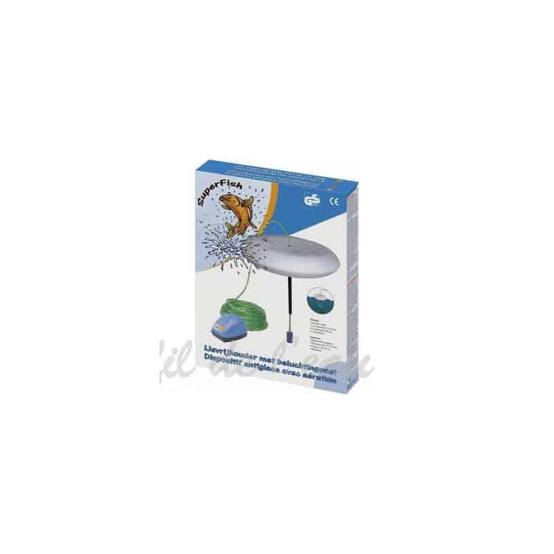 Cloche anti-gel avec pompe à air