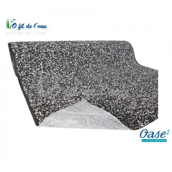 Bache gravillonn e gris granit oase o fil de l 39 eau for Bache plastique bassin