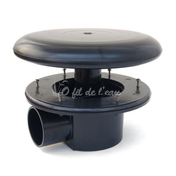 bonde de fond d50 o fil de l 39 eau. Black Bedroom Furniture Sets. Home Design Ideas