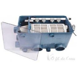 Couvercle transparent pour tambour AquaForte