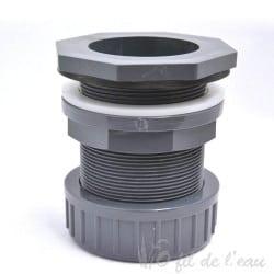 Traversée de paroi pour tuyau ou uv immergé 32mm