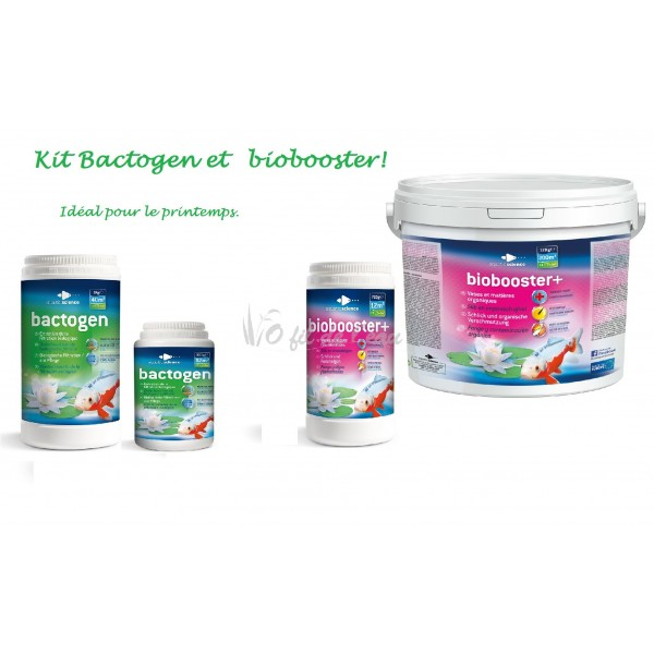 Kit Bactogen  et Biobooster