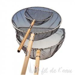 Epuisette à koi avec manche en bois ( haute gamme )