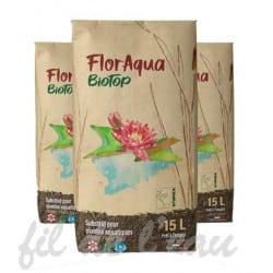 Terreau Floraqua Biotop 15 l