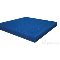 Mousse bleue filtrante 50cm x 50cm x 5cm