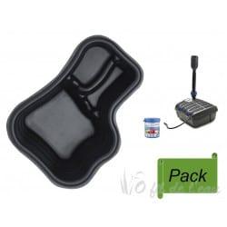 Pack Bassin Préformé PE 150 L + Filtration