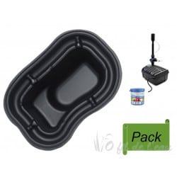 Pack Bassin Préformé PE 250 L + Filtration