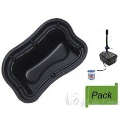 Pack Bassin Préformé PE 500 L + Filtration