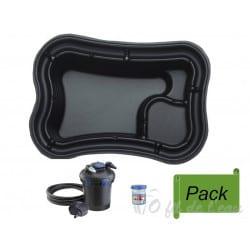 Pack Bassin Préformé PE 750 L + Filtration